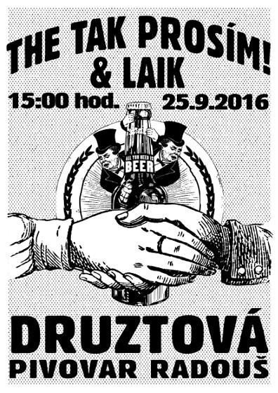 Laici a The Tak prosím v Pivovaru Radouš v Druztové